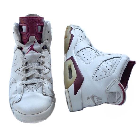 bc13e1645c4 Nike Shoes   Jordan 6 Retro Og Maroon Youth 4   Poshmark